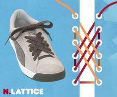 これはおしゃれ、15の靴ひもの結び方:らばQ