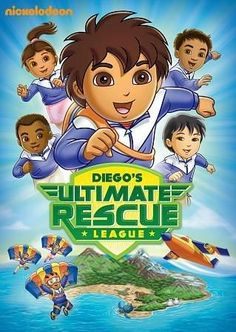 Paramount Studios Go, Diego, Go!: Diego's Ultimate Rescue League