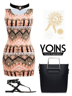 """Yoins"" by okano ❤ liked on Polyvore featuring vintage, yoins and loveyoin"
