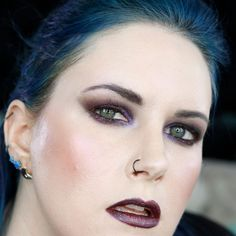 13 Best Gothic Makeup Brands for 2019 - Cruelty-free Beauty Hooded Eye Makeup, Smokey Eye Makeup, Makeup Geek, Love Makeup, Dark Makeup, Makeup Brands, Best Makeup Products, Duochrome Eyeshadow, Makeup Books