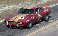 John Tremblay / Bill McDill - Bruce Behens Racing - Chevrolet Camaro - Sebring 12 Hours of Endurance for the Alitalia Airline Trophy - 1970 International Championship for Makes, round 2 - Challenge Mondial, round 1