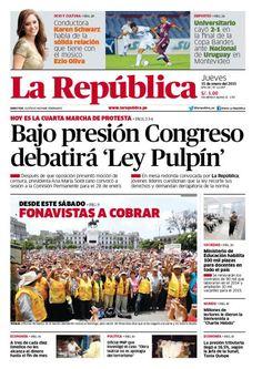La República Lima 15-01-2015