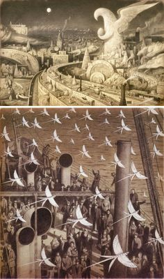 The 20 Most Beautiful Children's Books of All Time | The Arrival, written and illustrated by Shaun Tan