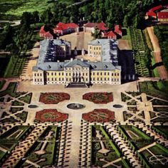 The Palace of Rundale is a little over an hour's drive from Riga towards Lithuania.