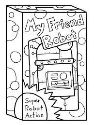 20 Cute Free Printable Robot Coloring Pages Online Robot Maker