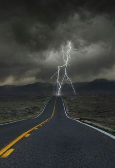 Science Discover lightning on desert road. Image Nature All Nature Amazing Nature Nature Pictures Cool Pictures Cool Photos Lightning Photography Nature Photography Photography Poses Lightning Photography, Nature Photography, Scenic Photography, Photography Poses, Landscape Photography, Wedding Photography, Beautiful Sky, Beautiful Landscapes, Nature Pictures