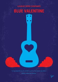 Blue Valentine (2010) ~ Minimal Movie Poster by Chungkong #amusementphile
