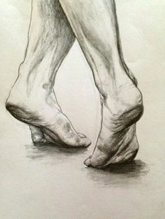 """""""Dancing Feet"""" drawing print on etsy (by Suzann Toni)! Great gift for a dancer Feet Drawing, Life Drawing, Figure Drawing, Drawing Sketches, Sketching, Fun Sketches, Sketches Of People, Sketch Art, Figure Painting"""