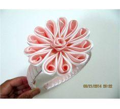 Flores pétalos botón de rosas diademas en cintas para el cabello                                                                                                                                                     Más