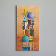 Basic Painting, Star Painting, Painting Lessons, Small Canvas Art, Diy Canvas Art, Acrylic Painting Canvas, Arte Judaica, Middle Eastern Art, Islamic Art Pattern