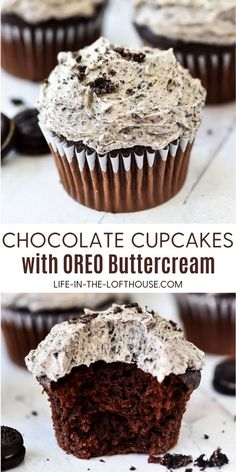 Fun Baking Recipes, Sweet Recipes, Cookie Recipes, Oreo Cupcake Recipes, Light Cupcake Recipe, Healthy Cupcakes, Oreo Cupcakes, Bar Recipes, Drink Recipes