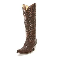 Corral Chocolate 18 Inch Cowgirl Boots - Cowgirl Boots - Womens - Footwear | D&D Farm and Ranch