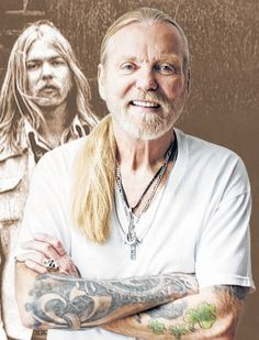 Gregg Allman. Seattle, Bumpershoot, after Duane had died early '70s