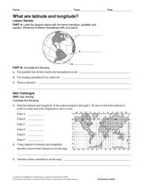 Printables Longitude And Latitude Practice Worksheets worksheets and articles on pinterest give students practice with geographic coordinates in this printable worksheet will read a map answer questions about latitude longitude