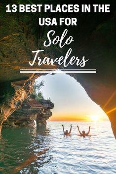 Trendy travel usa destinations places to visit ideas Bora Bora, Tahiti, Vacation Alone, Solo Vacation, Solo Trip, Dream Vacations, Vacation Ideas, Best Places To Travel, Cool Places To Visit
