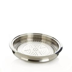 CS Multipurpose Stainless Steel Steamer Tray by Curtis Stone Lodge Cookware, Calphalon Cookware, Cast Iron Cookware, Tacos And Salsa, Cookware Accessories, Induction Cookware, Steamer Recipes, Stone Kitchen