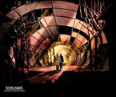 Kohlhaas Scenic Design by Douglas Clarke