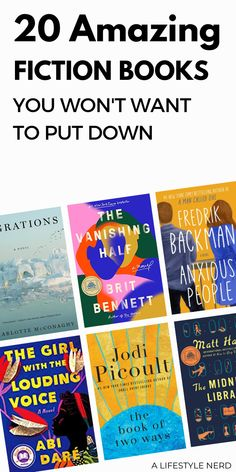 20 Amazing Fiction Books that you Won't Want to Put Down. These are the best fiction books to read that'll keep you hooked to the last page. These are the best historical fiction, fiction, and nonfiction books to read. Feel-good books to read right now. Check out the best good fiction book worth reading in 2020. These are the top must-read of 2020. These popular and bestselling books are all worth the hype. #bookstoread #fictionbooks #historicalfiction #ad Best Books Of All Time, Feel Good Books, Best Books To Read, Best Historical Fiction Books, Fiction Books To Read, Book Club Reads, Life Changing Books, Book Nerd, Nonfiction Books