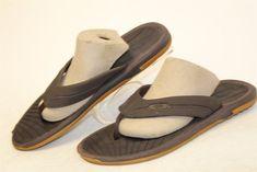 26c7df0686e Oakley Mens 10 44 Espresso Brown Casual Flip Flops Sandals Shoes 10128 ks   fashion  clothing  shoes  accessories  mensshoes  sandals (ebay link)