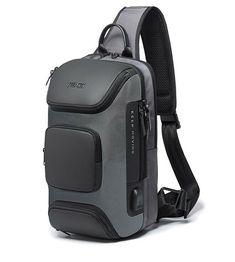 This Super Stylish MRoyale™ USB Sling Mini Backpack Carries & Protects Your Essential Belongings and Lets You Stay Connected! Well-Constructed Durable oxford fabric is water-resistant and tear-resistant, becoming your trusted companion for long-term use! Stylish The modern design has a premium feel, giving it a touch of elegance with contemporary styling. Ergonomic Perfectly designed to nicely fit your body to stay in place, even while running! Compact, Yet Roomy Generous enough for your boo Small Backpack, Mini Backpack, Shoulder Backpack, Oxford Fabric, Day Bag, Timeless Fashion, Compact, Shoulder Strap, Modern Design
