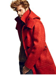 Felted-wool duffle coat by Burberry