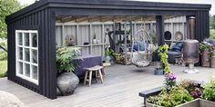 Pergola With Retractable Canopy Info: 4711907358 Backyard Sheds, Backyard Patio Designs, Backyard Retreat, Backyard Landscaping, Outdoor Areas, Outdoor Rooms, Outdoor Living, Outdoor Decor, Patio Interior