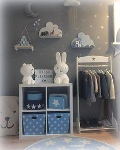 Décoration chambre bébé garçon en bleu – 36 idées cool | Décoration ...