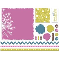 Silhouette Design Store - View Design #12839: page kit - in bloom