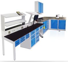 Lab Workstations : Dental Lab Solutions by HandlerMFG, Dental Lab Equipment and Lab Benches Dental Office Decor, Dental Technician, Dental Laboratory, Lab Equipment, Table Designs, Workbenches, Orthodontics, Body Mods, Hobbies And Crafts