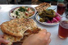 breakfast near Souk Saroujah in Damascus Countries, War, Breakfast, Ethnic Recipes, Food, Morning Coffee, Essen, Meals, Yemek