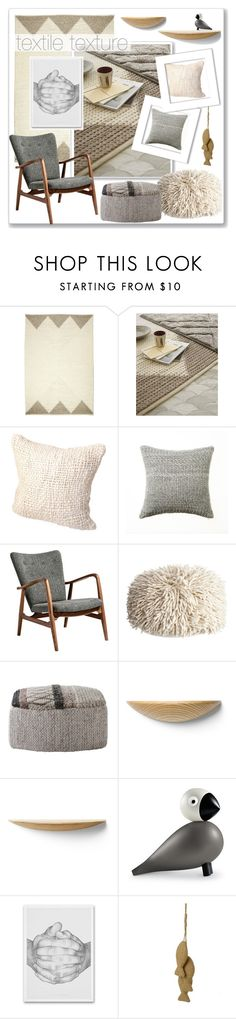 """Texture"" by ambervogue ❤ liked on Polyvore featuring interior, interiors, interior design, home, home decor, interior decorating, Pure Lana, Dot & Bo, Calypso Home and Menu"