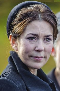 Crown Princess Mary and son Christian attending the funeral of her maid Tina Joergensen--crown princess mary of denmark funeral maid - Google Search