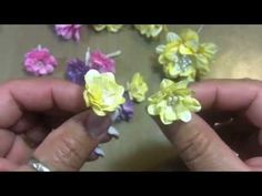 """April """"Build-a-Flower"""" challenge with Jules for WOC!!"""