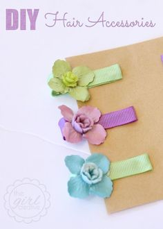 10 Easy DIY Hair Clips To Help Start Up Your Hobby - Bead&Cord