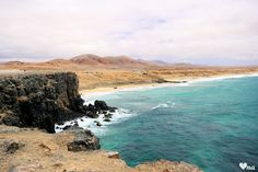 http://onawielepiej.blogspot.com #fuerteventura #wyspykanaryjskie #brzeg #fale #koloroceanu