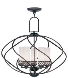 indoor lighting chandeliers. miseno mlit155389 3-light cage orb chandelier satin nickel indoor lighting chandeliers globe | chandelier, and lights a