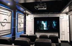 art deco homes - Google Search  Movie room