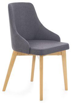 Ciemnoszare krzesło do stołu, biurka Altex w sklepie internetowym Edinos.pl. Zamów krzesło skandynawskie grafit Altex z kategorii krzesła drewniane w najlepszej cenie z dostawą w 24h. Sprawdź.