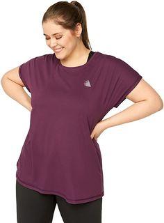 Super angenehmer Stoff.  T-Shirt von Active by Zizzi. Dieses kurzärmelige Shirt mit Rundhalsausschnitt hat ein schlichtes Design und eine lockere Passform, die für einen hohen Komfort sorgt. Es ist sowohl fürs Training als auch für entspannte Stunden geeignet.. Kurze Ärmel Rundhalsausschnitt Obermaterial: 88% Polyester, 12% Elasthan Modellnummer: A00053A Schlichtes Design Lockere Passform Komfortabel Komfort, Sports Shirts, Workout Tops, Super, Fitness, Design, Fashion, Scale Model, Moda