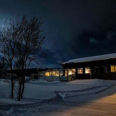 Hinrich Carstensen Photography » Norway Road Trip 2016. Lovely cabin somewhere in nowhere under a full moon. Our home for a night.