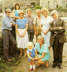 Emmerdale farm, when it was actually about a farm!