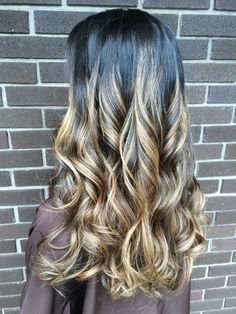 My hair by Nikki Lynn #balayage #hair #blonde #highlights #ombre #longhair #gold