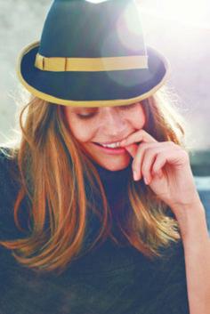 Felt Hat inspiration :: thesaucesuppliers.com