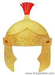 Step 12 Roman Imperial Helmet craft