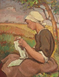 Camil Ressu, 28 January 1880 – 1 April was a Romanian painter and academic, one of the most significant art figures of Romania. Digital Museum, Collaborative Art, Sewing For Beginners, Impressionist, Needlework, Google, Artwork, Image, Instagram