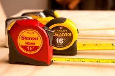Seriously, this is the best tape measure you can buy. And it costs $8.00.