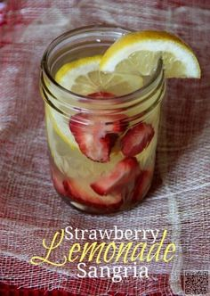 24. Strawberry #Lemonade Sangria - Yes #Please! These Are the 26 Most…