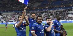 Rugby: le XV de France reprend confiance contre l'Angleterre