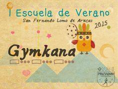 Gymkana en la Escuela de Verano en Arucas