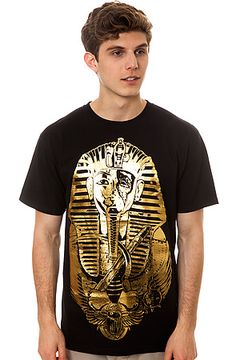 0a7a44f5d Rook Tee Pharaoh Gold Foil in Black Get 25% off using REPCODE  FAIRMONT Rook
